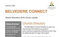 Belvedere Connect 2020-08-05