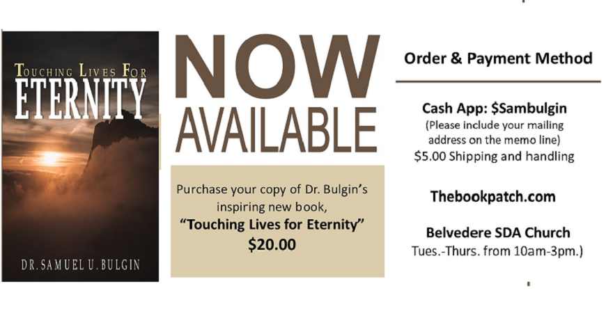 "Pre-Order ""Touching Lives for Eternity"""